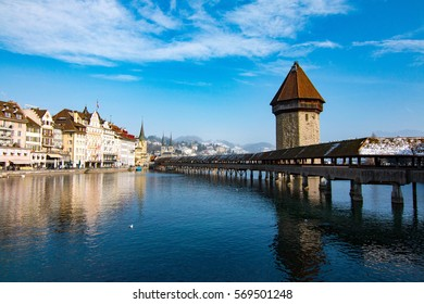 Lucerne is a beautiful city in central Switzerland
