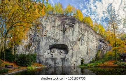 Lucerne dying lion monument, Switzerland