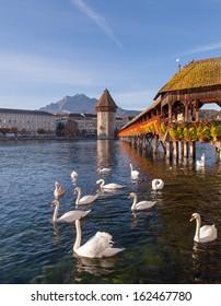 Lucerne, Switzerland, early morning