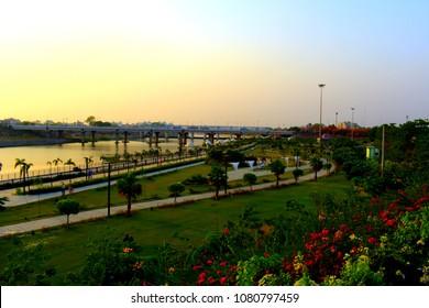 Lucknow riverfront park
