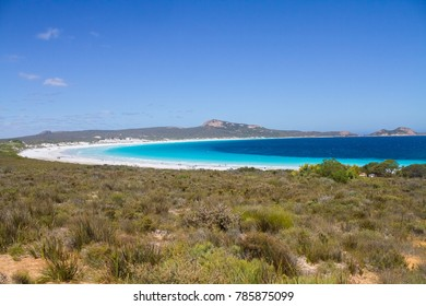 Lucky Bay in Cape Le Grand National Park, Western Australia.