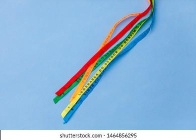 Lucky bracelets typical of Brazil