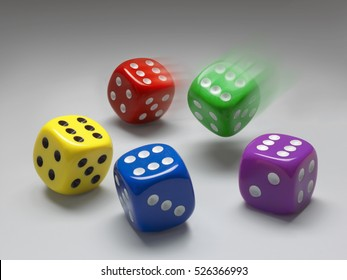 Lucky game of dice