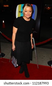 """Lucy Davis at the Los Angeles Premiere of """"The TV Set"""". Crest Theater, Westwood, CA. 03-27-07"""
