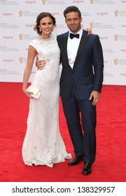 Lucy Watson and Spencer Matthews arriving for the TV BAFTA Awards 2013, Royal Festival Hall, London. 12/05/2013