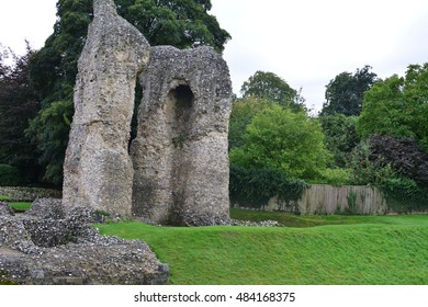 Ludgershall Castle in England