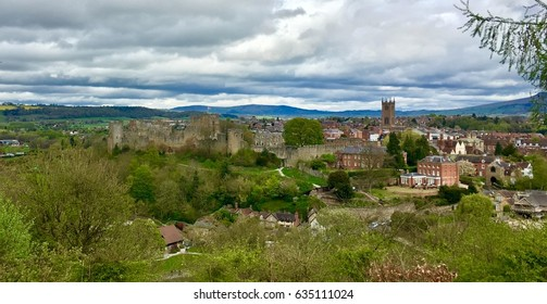 Ludlow Castle, South Shropshire, England