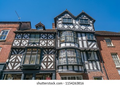 Ludlow a medieval town in the heart of Shropshire England UK