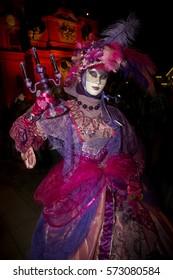 LUDWIGSBURG, GERMANY , 10 SEPTEMBER 2016. Venice Carnival in Ludwigsburg, Germany.
