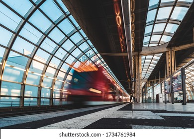 Ludwigshafen, 18.05.2020: Deutsche Bahn Regio trains on May 18, 2020 in Ludwigshafen Rhein (Mitte), Germany