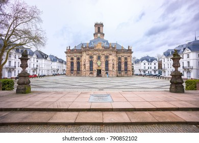 Ludwigskirche, a Protestant Church in Saarbrucken, Germany
