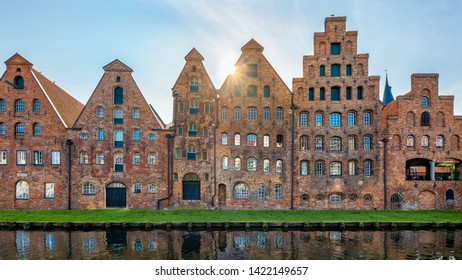 Luebeck, Germany, (German: Lübeck). The Salt Store House (German: Salzspeicher) in the old town.