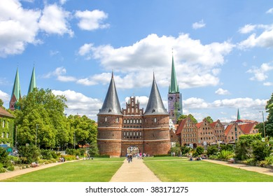 Luebeck, Holstentor,