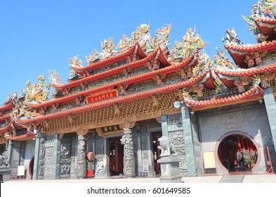 Luermen Tianhou Matsu temple in Tainan Taiwan
