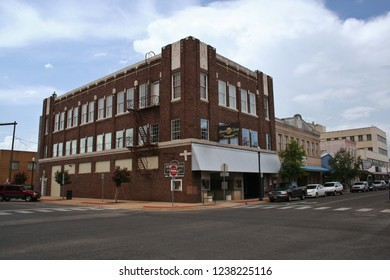 Lufkin, TX - July 22, 2012: Historic downtown Lufkin, TX