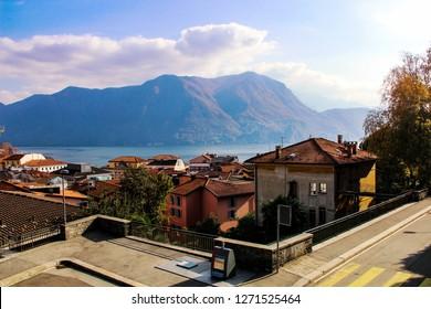 Lugano city Switzerland