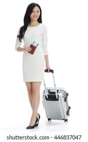Luggage business women