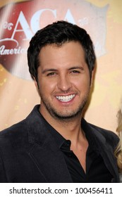 Luke Bryan at the 2010 American Country Awards Arrivals, MGM Grand Hotel, Las Vegas, NV. 12-06-10
