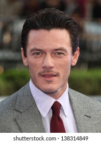 Luke Evans arriving for the 'Fast And Furious 6' Premiere, at Empire Leicester Square, London. 07/05/2013