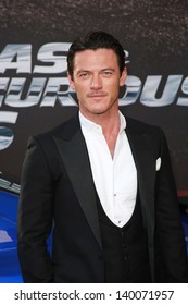 """Luke Evans at the """"Fast And Furious 6"""" Los Angeles Premiere, Gibson Amphitheatre, Universal City, CA  05-21-13"""