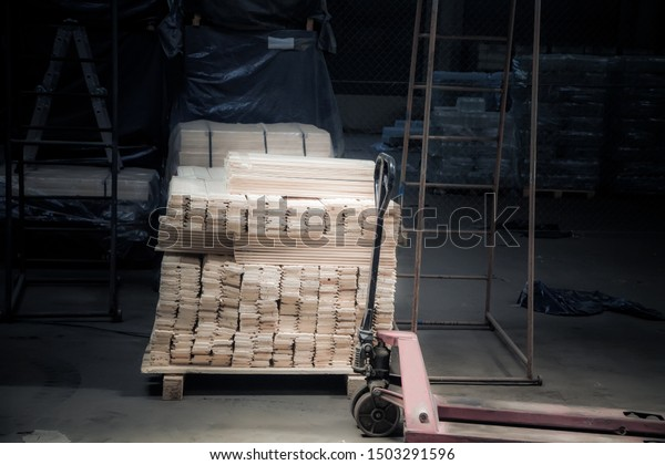 Warehouse production lumber