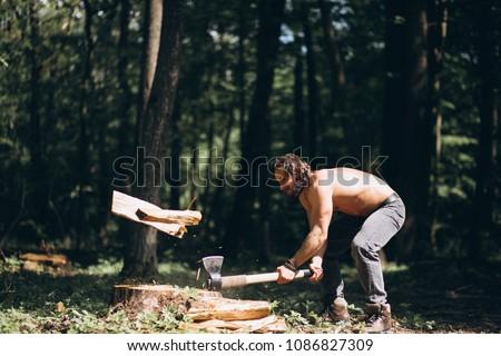 5c278cb4 Lumberjack Axe arkivfoto (rediger nå) 1086827309 – Shutterstock