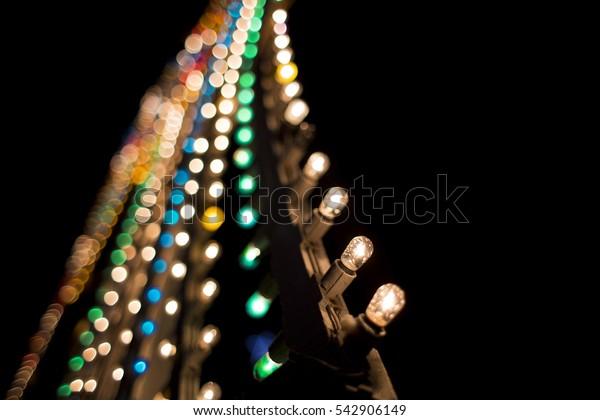 Luminarie light Close-up / Luminarie little bulbs
