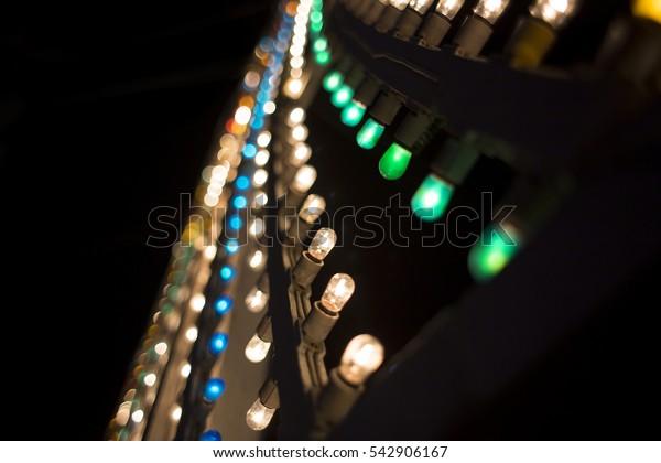 Luminarie wave of light / Luminarie little bulbs