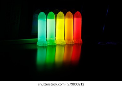 Luminescence of aqueous solution of Quantum dots