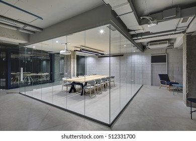 partition wall office. Luminous Conference Zone In The Office A Loft Style With Brick Walls And Concrete Columns Partition Wall N