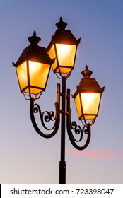 luminous street lamp