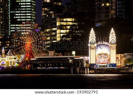 Luna Park on a
