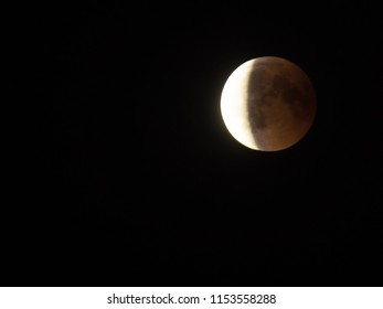 Lunar eclipse, 27th July 2018