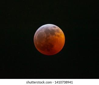 Lunar Eclipse Blood Moon 2019