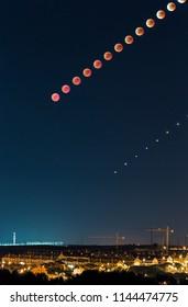 Lunar eclipse in July 2018