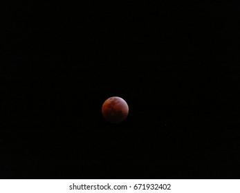 Lunar Eclipse Maleny Queensland