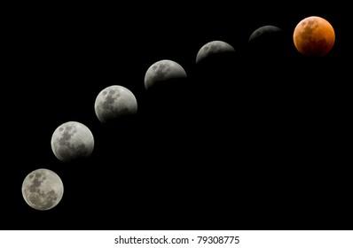 Lunar eclipse on 15 June 2011