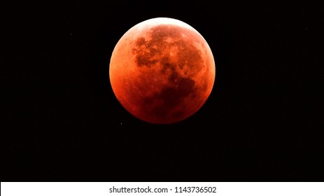 Lunar Eclipse on 28th of July 2018 which also called as blood moon