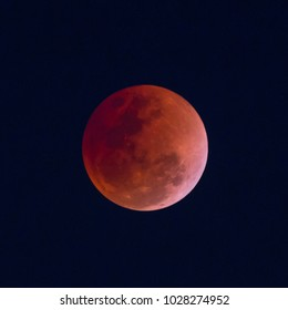 Lunar Eclipse on January 31, 2018