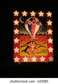 Lunar Orbit.Blackpool Illuminations Display.