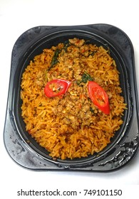 lunch box - Fried Rice Set,Isolate white background