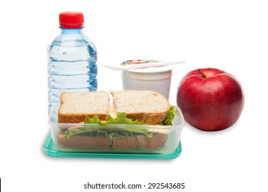 Lunch Box, Packed Lunch, Lunch.