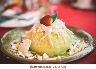 Lunch - dumpling