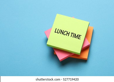 Lunch Time, Business Concept