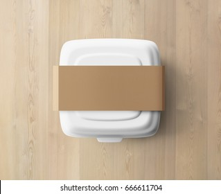 Lunchbox on table