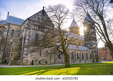 Lund Cathedral in Lund, Sweden