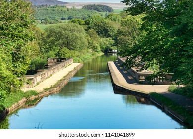 The Lune Aqueduct is a navigable aqueduct that carries the Lancaster Canal over the River Lune, on the east side of the city of Lancaster in Lancashire, England. It was completed in 1797.
