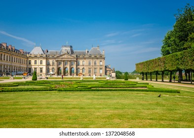 """Luneville Castle also known as the Castle is located in Lorraine region, France, it is a modest """"replica"""" of Versailles. Gardens details"""