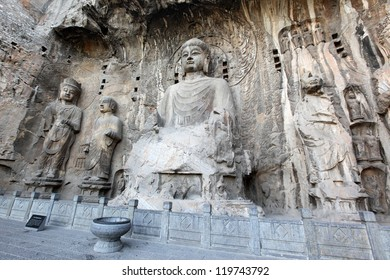 Luoyang The Buddha of Longmen Grottoes in China