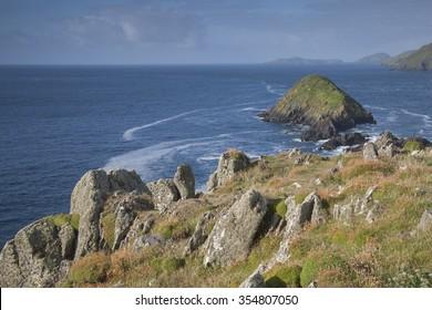 Lure and Blasket Islands, Dingle Peninsula, Ireland